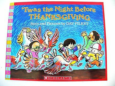 'Twas the Night Before Thanksgiving Dav Pilkey funny kids story picture book