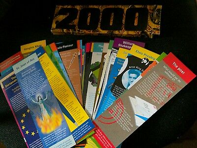 bookmarks 36 present out of 40 millennium