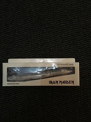 Iron Maiden Ed Force One 757 Model