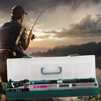 2 Person Junior/Beginner Fishing Reel, Rod, Hooks Novice Starter Kit Set