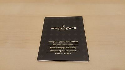 Vacheron  Constantin Hand-Wound Wrist Chronograph Booklet In Mint Condition