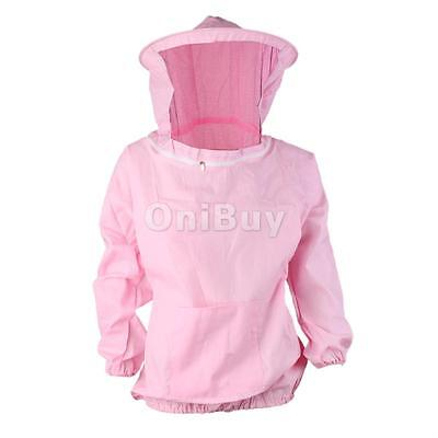 Veste Apiculture Voile Abeille Costume Protection Equipement - Rose