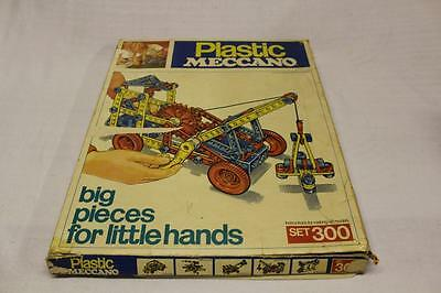 Vintage Toy Plastic MECCANO SET Boxed Collectable Kit