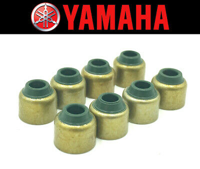Set of (8) Intake & Exhaust Valve Stem Seals Yamaha XP500 T-Max 2001-2016