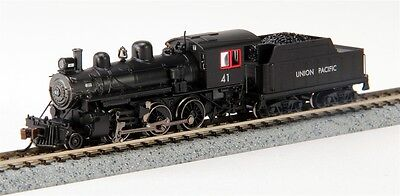 Bachmann 51755 N Union Pacific Alco 2-6-0 Steam Locomotive & Tender w/DCC #41