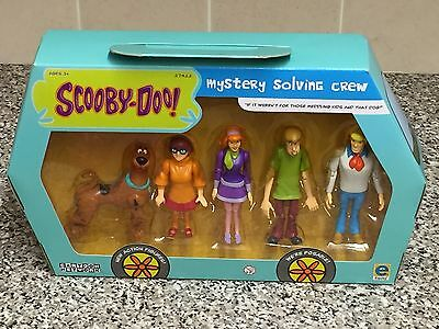 Scooby Doo Mystery Solving Crew Articulated Figures BNIB OOP Edition