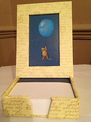 Naturally Pooh Picture Frame Memo Pad