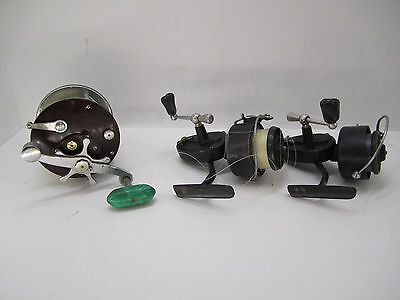 Lot of 3 Vintage Fishing Reels - (2) Garcia Mitchell 300 and (1) Penn 309