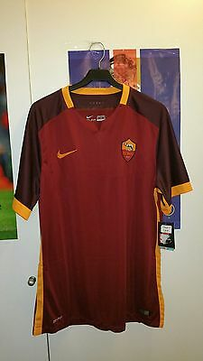 camiseta Roma Italia Shirt Match Issue Trikot Original Nike Maglia Maillot XL