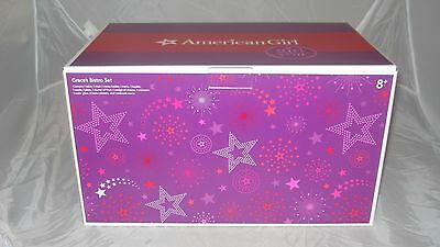 American Girl Doll Grace Thomas Retired Bistro Set,New in Box