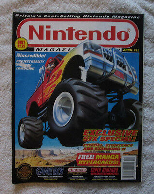 Nintendo Magazine System - Issue 19 (April 1994) Video Game Gaming Official