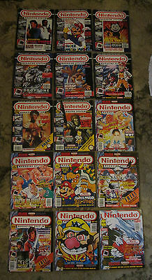 Nintendo Magazine System - 1992 & 1993 COMPLETE YEARS (15 Issues) Official Lot