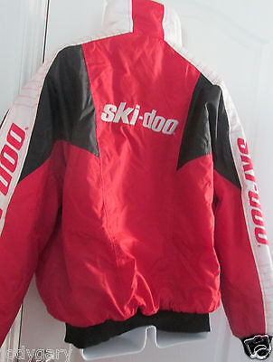 Mens Collectible Ski-Doo Vintage Snowmobiling Warm Winter Coat Jacket 44 M