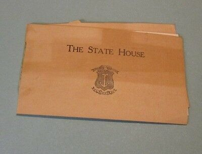 1911 Providence Rhode Island State House Travel Guide Book 24pg Souvenir
