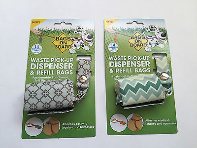 Dog Poo Bag Dispenser and Refill Bags