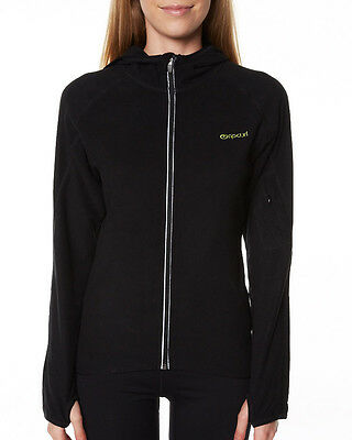 Rip Curl LAHNEE ACTIVE HOODIE Womens Fleece Active Wear Gym Workout Jacket