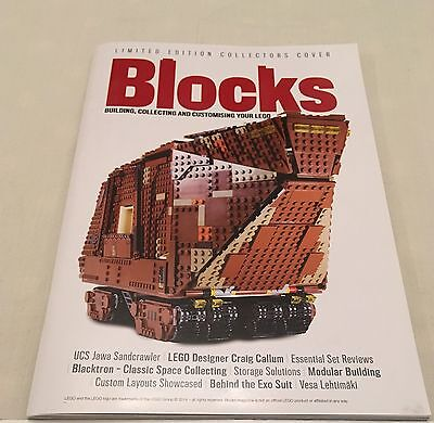 LEGO - Blocks Magazine - Pilot Issue - Limited Edition Collectors Cover