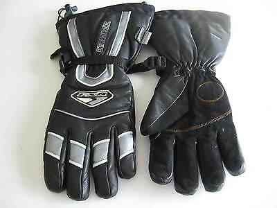 New Black Leather Long Cuff Gloves Water Proof 3Xl Snow Gloves Fxr