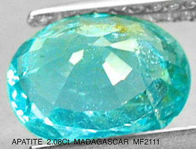 APATITE NATURAL MINED 2.08Ct  MF2111
