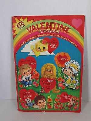 Vintage Early 60's Book of Unused 175 Punch Out Valentines w/Games, Moveable
