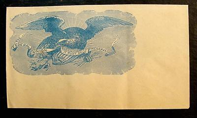"Civil War Patriotic Cover-""the Federal Union It Must Be Preserved"""