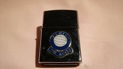VINTAGE 1970,s IPSWICH TOWN FOOTBALL CLUB BADGE LIGHTER IN GOOD CONDITION.
