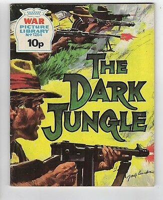 1264: The Dark Jungle (10p) [Fleetway Library WAR Picture Library]