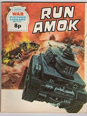 1026: Run Amok (8p) [Fleetway Library WAR Picture Library]