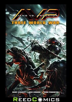 ALIENS VS PREDATOR THREE WORLD WAR GRAPHIC NOVEL New Paperback Collects #1-6