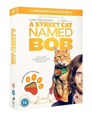 A Street Cat Named Bob (Limited Edition with Novelty Cat Scarf) [DVD]