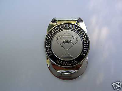 Money Clip ~ MERCEDES CHAMPIONSHIPS 2004~Stuart Appleby
