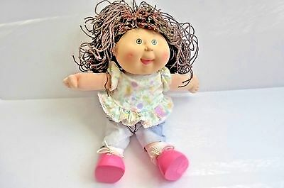 Vintage 1990 Hasbro Pretty Crimp 'n Curl Cabbage Patch Baby Doll Xavier, 1st Ed