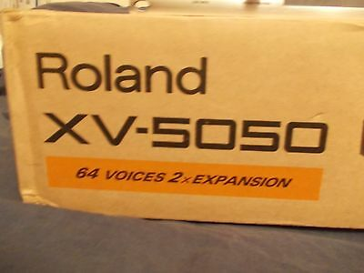 Roland Xv-5050 - Mint Condition Boxed With Manual