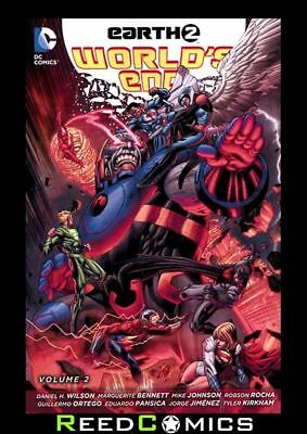 EARTH 2 WORLDS END VOLUME 2 GRAPHIC NOVEL New Paperback Collects Issues #12-26