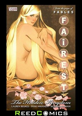FAIREST VOLUME 2 HIDDEN KINGDOM GRAPHIC NOVEL New Paperback Collects 8-14 Fables