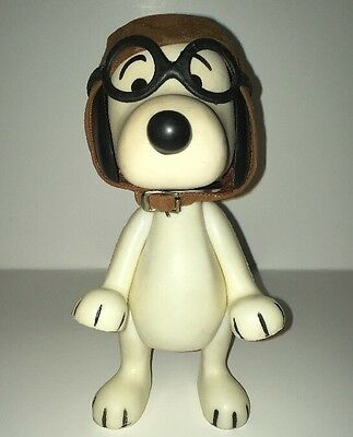 1966 Snoopy Red Baron Pilot With Goggles And Collar