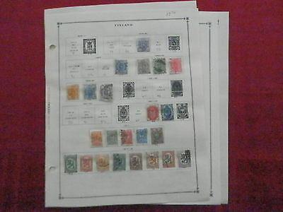 Finland Old Collection 1875-1940 Extra Fine Dr Schultz Estate !!9493F