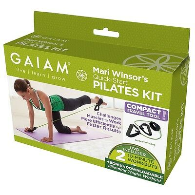 NEW - Gaiam Quick Start Pilates Kit