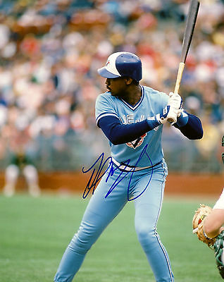 Fred McGriff Autographed 8x10. Toronto Blue Jays