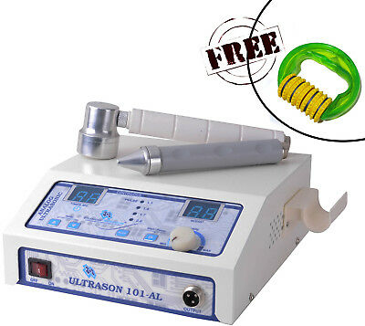 Professional Ultrasound Therapy Machine for Pain relief 1 Mhz with Dual Heads