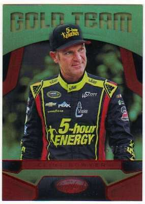 2016 Panini Certified NASCAR Racing Gold Team Mirror Red /75 #20 Clint Bowyer