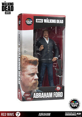 Abraham Ford The Walking Dead Color Tops #7 Red Wave 18 cm Figur McFarlane