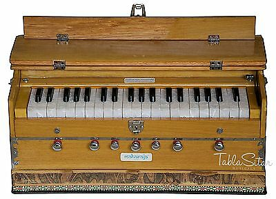 HARMONIUM No.5200n|MAHARAJA|7 STOP|3¼ OCTAVE|MULTI-BELLOW|BOOK|COUPLER|ABF-2