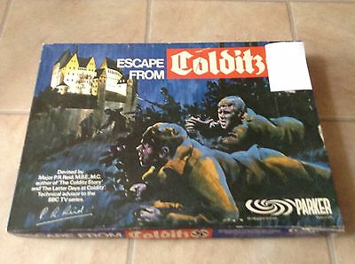 Vintage 1973 Escape From Colditz Board Game By Parker