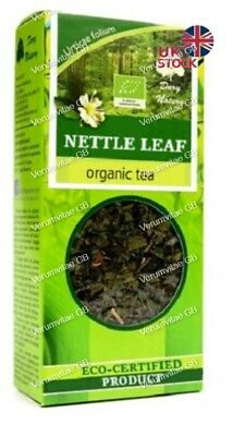 Dary Natury Nettle Leaf organic tea, multivitamin,  cleanses the body
