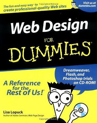 Web Design For Dummies By Lisa Lopuck. 9780764508233
