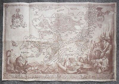 Warhammer Fantasy 6th Limited Edition OLD WORLD MAP Published In 2000