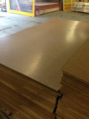3mm Brown Hardboard Sheets 1220 x 610mm Or 610 x 610mm - Clearance Bargain