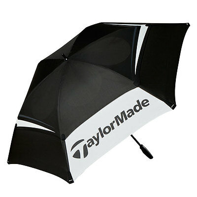 "New 2017 Taylormade 68"" Double Canopy Umbrella"