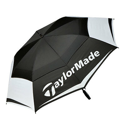"New 2017 Taylormade 64"" Double Canopy Umbrella"